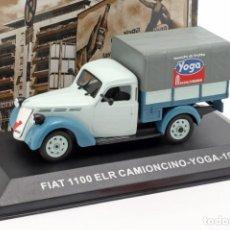 Coches a escala: COCHE E: 1:43. FIAT 1100 ELR CAMIONCINO-YOGA. Lote 194677030