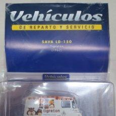 Coches a escala: VEHICULOS DE REPARTO. SAVA LD -150 TIGRETON. 1962. Lote 194738031