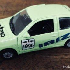 Coches a escala: SEAT IBIZA D-125 1994, AUTO RETRO. DOORKEY.. Lote 194789338