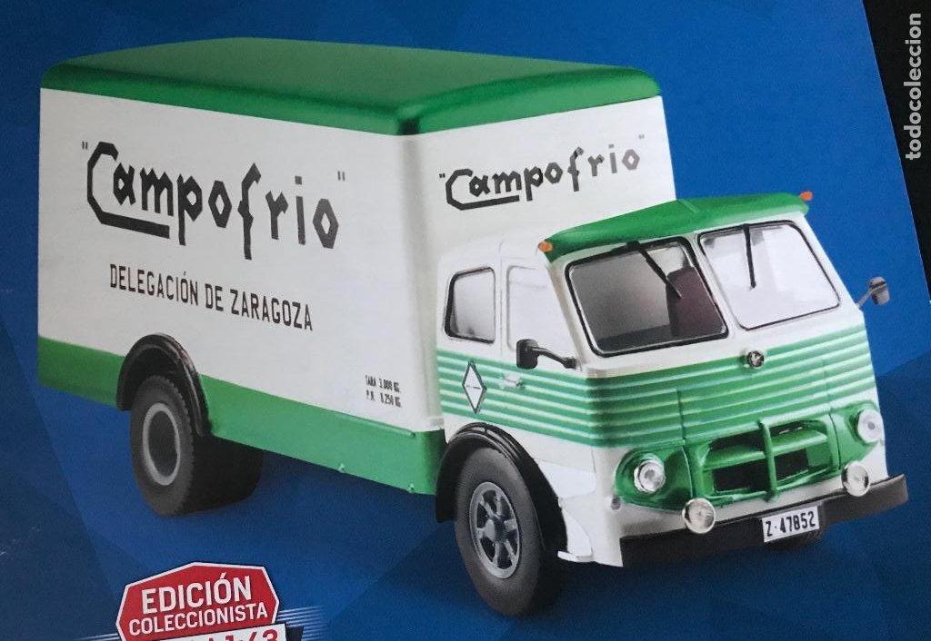 CAMION PEGASO 1060 CABEZON CAMPOFRIO - ESCALA 1/43 - IXO - SALVAT - TRUCK AUTOBUS BUS AUTOCAR (Juguetes - Coches a Escala 1:43 Otras Marcas)