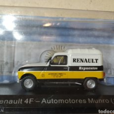 Coches a escala: RENAULT 4F RENAULT REPUESTOS. Lote 194910402