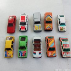 Coches a escala: LOTE 9 COCHES ESCALA 1/43. GUISVAL, GUILOY, MIRA, MATCHBOX, MAJORETTE. Lote 195020940