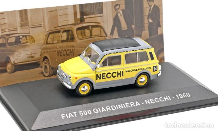 COCHE E 1:43. FIAT 500 GIARDINIERA, NECCHI 1960 (Juguetes - Coches a Escala 1:43 Otras Marcas)