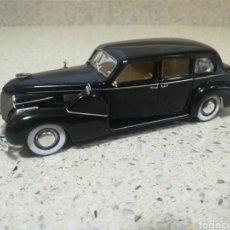 Coches a escala: IXO ALTAYA CADILLAC FLEETWOOD V8 LIMOUSINE 1939 PERFECTO. Lote 195118102