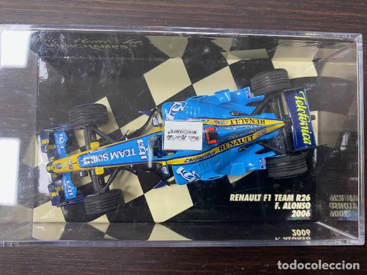 Coches a escala: Renault F1 Team R26 Fernando Alonso 2006 - Foto 2 - 195209727