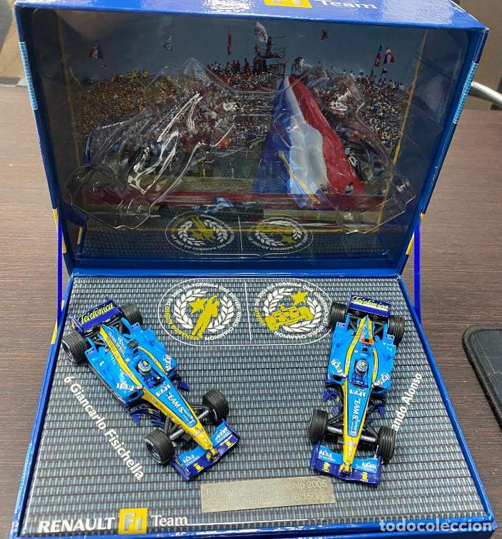 Coches a escala: RENAULT F1 TEAM Pack R25 World Championship FERNANDO ALONSO 2005 Limited edition - Foto 1 - 195210167