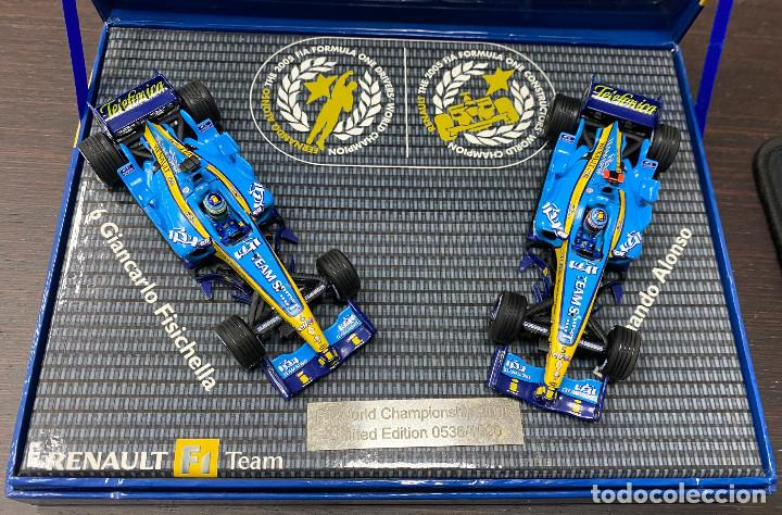 Coches a escala: RENAULT F1 TEAM Pack R25 World Championship FERNANDO ALONSO 2005 Limited edition - Foto 2 - 195210167
