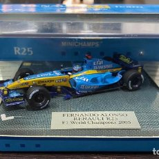 Coches a escala: RENAULT F1 TEAM R25 WORLD CHAMPIONS FERNANDO ALONSO 2005 . Lote 195210478