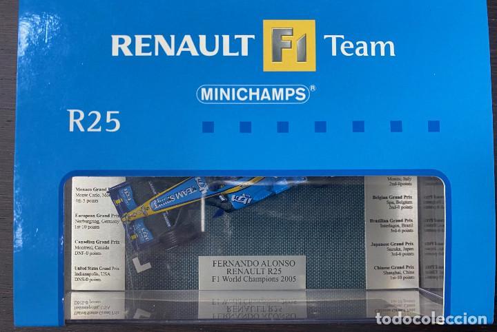 Coches a escala: RENAULT F1 TEAM R25 WORLD CHAMPIONS FERNANDO ALONSO 2005 - Foto 2 - 195210478