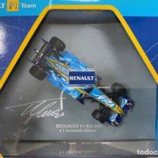 Coches a escala: RENAULT F1 TEAM R26 FERNANDO ALONSO 2006 #1 AUTOGRAFIADO. Lote 195211028