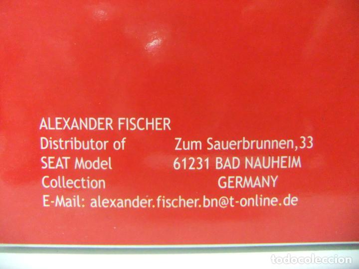 Coches a escala: SEAT IBIZA 5P 5 PUERTAS ATUL NAYARRA - ALEXANDER FISCHER ESCALA 1:43 COCHE AUTOEMOCIÓN COLECCIÓN - Foto 7 - 195227351