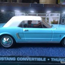 Coches a escala: COLECCION VEHICULOS JAMES BOND 007, FORD MUSTANG CONVERTIBLE, THUNDERBALL. Lote 195301272