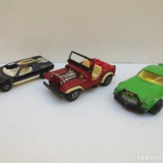 Coches a escala: LOTE DE COCHES ANTIGUOS - BMW TURBO - JEEP WILLYS - CAMARO .. Lote 195533723