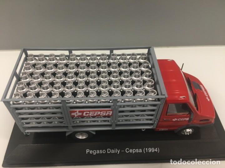 Coches a escala: Vehiculo de reparto pegaso daily cepsa 1994. ESCALA 1/43 - Foto 7 - 195578765