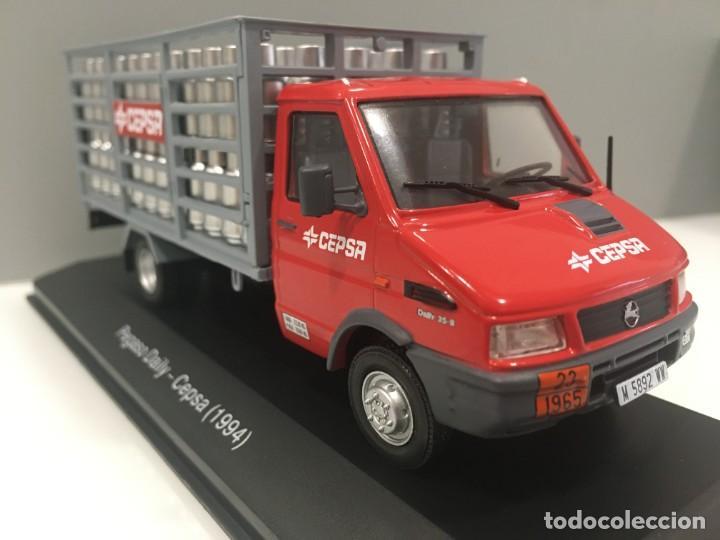 Coches a escala: Vehiculo de reparto pegaso daily cepsa 1994. ESCALA 1/43 - Foto 9 - 195578765