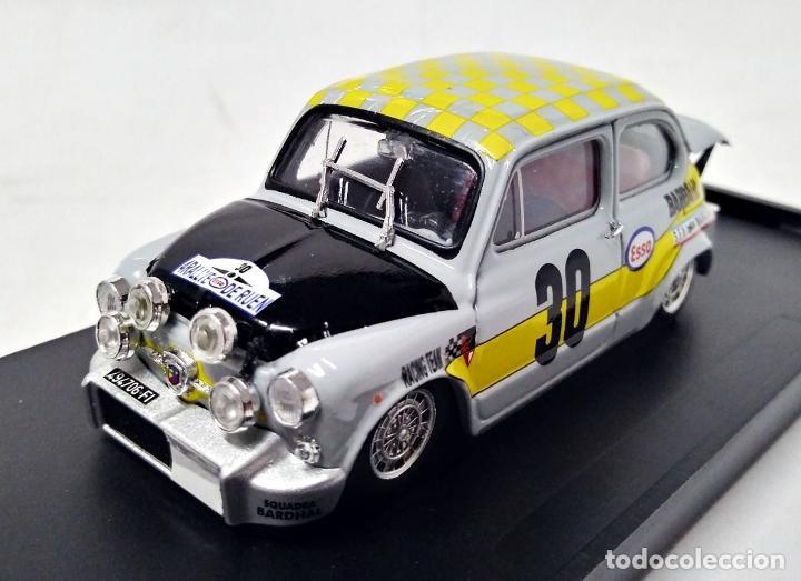 FIAT ABARTH 1000 #30 RALLY DE ROUEN 1969 1:43 BRUMM (Juguetes - Coches a Escala 1:43 Otras Marcas)