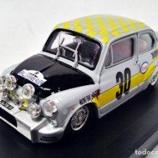 Voitures à l'échelle: FIAT ABARTH 1000 #30 RALLY DE ROUEN 1969 1:43 BRUMM. Lote 195860972