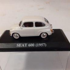 Coches a escala: COCHE SEAT 600 1957 IXO ALTAYA EN CAJA. Lote 196153596