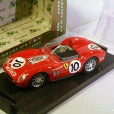 Coches a escala: BRUMM 202 ESCALA 1/43 FERRARI 250 T.R.S. #10 1960 PEDRO RODRIGUEZ / NASCAR TROPHY RACE. Lote 196981255
