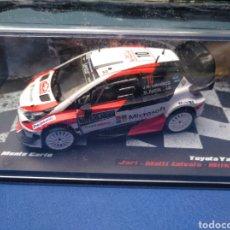 Carros em escala: TEST COCHE ESCALA 1/43 DE LA COLECCIÓN VENCEDORES DE RALLY DE ALTAYA, TOYOTA YARIS WRC. Lote 197552876