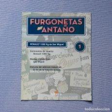 Carros em escala: FURGONETAS DE ANTAÑO - FASC. Nº 1 - RENAULT 1000 KG DE SAN MIGUEL. Lote 198204668
