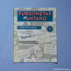 Carros em escala: FURGONETAS DE ANTAÑO - FASC. Nº 2 - CITRÖEN TIPO H DE MICHELIN. Lote 198204977