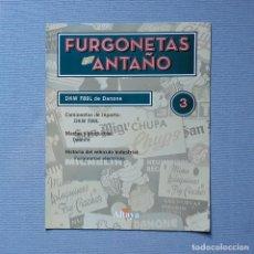 Carros em escala: FURGONETAS DE ANTAÑO - FASC. Nº 3 - DKW F89L DE DANONE. Lote 198205055