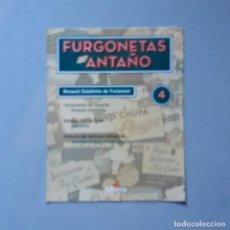 Carros em escala: FURGONETAS DE ANTAÑO - FASC. Nº 4 - RENAULT ESTAFETTE DE FREIXENET. Lote 198205168