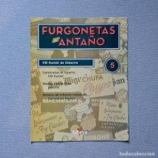 Carros em escala: FURGONETAS DE ANTAÑO - FASC. Nº 5 - VW KOMBI DE OSBORNE. Lote 198205282