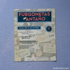 Carros em escala: FURGONETAS DE ANTAÑO - FASC. Nº 7 - SAVIEM SG2 DE ANÍS DEL MONO. Lote 198205325