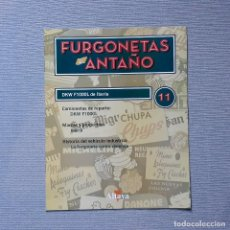 Carros em escala: FURGONETAS DE ANTAÑO - FASC. Nº 11 - DKW F1000L DE IBERIA. Lote 198205376