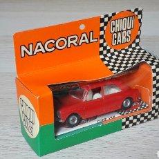 Coches a escala: MORRIS 1100 REF. 2003, PLÁSTICO ESC 1/43, NACORAL CHIQUICARS CHIQUI-CARS SPAIN, ORIGINAL AÑOS 60.. Lote 198369792