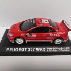 Coches a escala: PEUGEOT 307 WRC. RALLY DE MONTECARLO 2004.. Lote 198894927