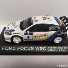 Coches a escala: FORD FOCUS WRC. ACRÓPOLIS RALLY 2003. Lote 198898883