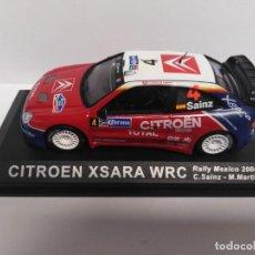 Coches a escala: CITROEN XSARA WRC. RALLY MÉXICO 2004. Lote 198900326