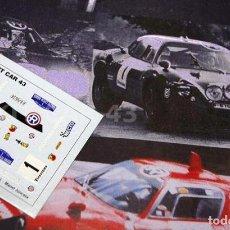Coches a escala: [CALCA] FIAT ABARTH OT2000 #1 M. JUNCOSA RALLY COSTA BRAVA 1971 (REF. 201DECA43) 1:43 KIT CAR 43. Lote 199094103