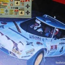 Coches a escala: [CALCA] LANCIA STRATOS #4 J. DE BAGRATION RALLY RACE 1976 (REF. 123DECA43) 1:43 KIT CAR 43. Lote 199094166