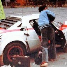 Coches a escala: [CALCA] LANCIA STRATOS #12 I. OLIVERAS RALLY COSTA BRAVA 1980 (REF. 212DECA43) 1:43 KIT CAR 43. Lote 199094235
