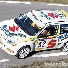 Coches a escala: [CALCA] SUZUKI IGNIS S1600 #52 D. CARLSSON RALLY CATALUNYA 2003 (REF. 046BDECA43) 1:43 KIT CAR 43. Lote 199094376