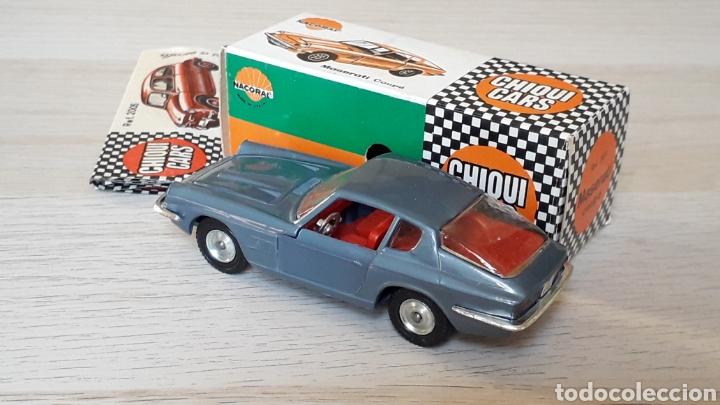 Coches a escala: Lamborghini 3.5 Mistral ref. 2011, esc. 1/43, Nacoral Chiquicars Chiqui Cars, original años 60. Caja - Foto 4 - 199175858