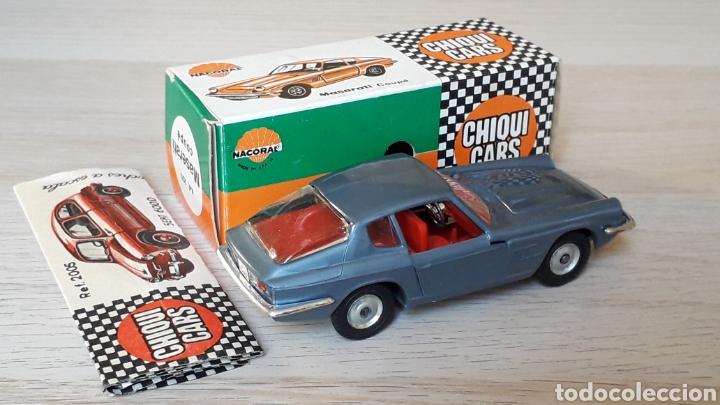 Coches a escala: Lamborghini 3.5 Mistral ref. 2011, esc. 1/43, Nacoral Chiquicars Chiqui Cars, original años 60. Caja - Foto 6 - 199175858