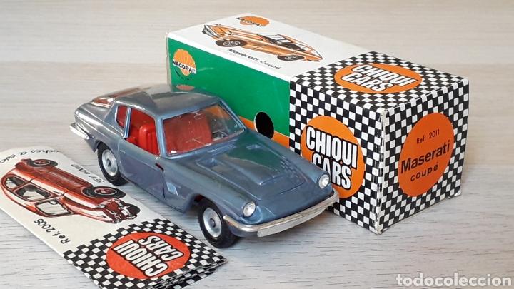Coches a escala: Lamborghini 3.5 Mistral ref. 2011, esc. 1/43, Nacoral Chiquicars Chiqui Cars, original años 60. Caja - Foto 8 - 199175858