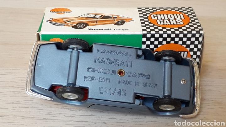 Coches a escala: Lamborghini 3.5 Mistral ref. 2011, esc. 1/43, Nacoral Chiquicars Chiqui Cars, original años 60. Caja - Foto 9 - 199175858