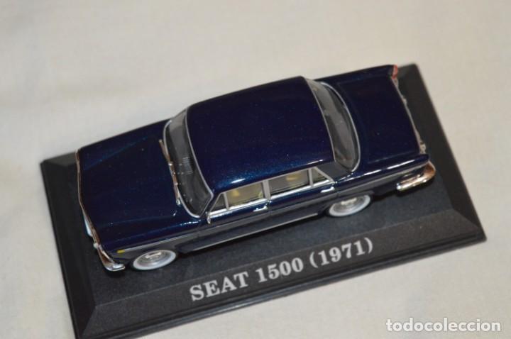 Coches a escala: Lote 2 coches escala 1/43 - 1:43 o similares - SEAT 1500 y RENAULT 8 TS ¡Mira fotos y detalles! - Foto 16 - 201355888