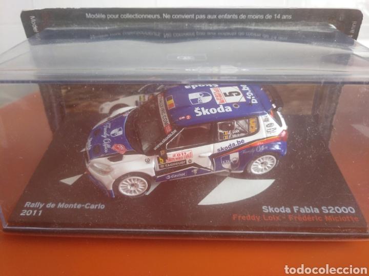 SKODA FABIA S2000 RALLY DE MONTECARLO 2011, ALTAYA, ESCALA 1/43, NUEVO. (Juguetes - Coches a Escala 1:43 Otras Marcas)