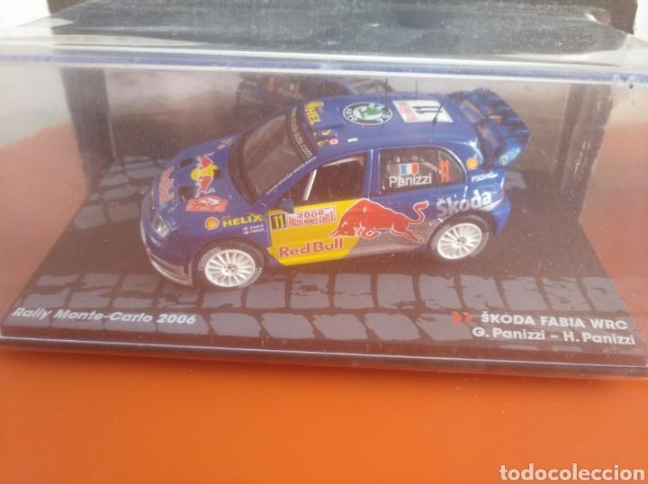 SKODA FABIA WRC RALLY DE MONTECARLO 2006, ALTAYA, ESCALA 1/43, NUEVO. (Juguetes - Coches a Escala 1:43 Otras Marcas)