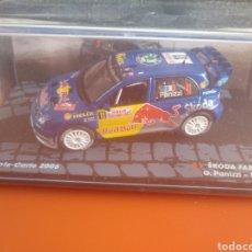 Coches a escala: SKODA FABIA WRC RALLY DE MONTECARLO 2006, ALTAYA, ESCALA 1/43, NUEVO.. Lote 202668163