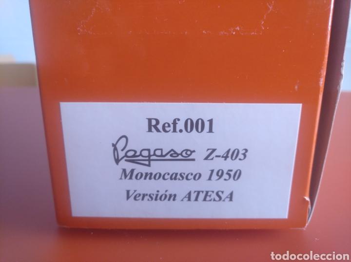Coches a escala: AUTOBÚS PEGASO Z 403 MONOCASCO, 1950,, ATESA, MARCA IBERTRANS, ESCALA 1/43, NUEVO. - Foto 4 - 202671973