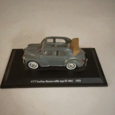 Coches a escala: RENAULT 4 CV BERLINE DECOUVRABLE TYPE R 1062 -1953. Lote 202957128
