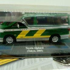 Coches a escala: ALTAYA TAXI TOYOTA ALPHARD TOKIO,2005+ FOLLETO. Lote 203047138